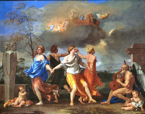 Nicolas Poussin, Dance to the Music of Time, 1634. The Wallace Collection.